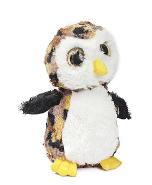 Plush Stuffed Owl - Brown