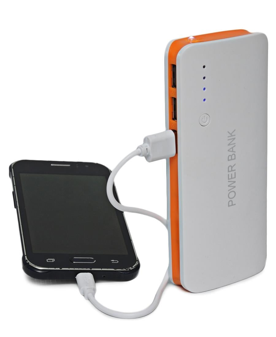 10000MAH Power Bank - Orange