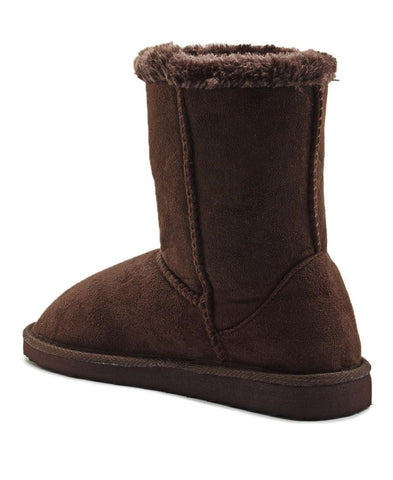 Fur Boots - Brown