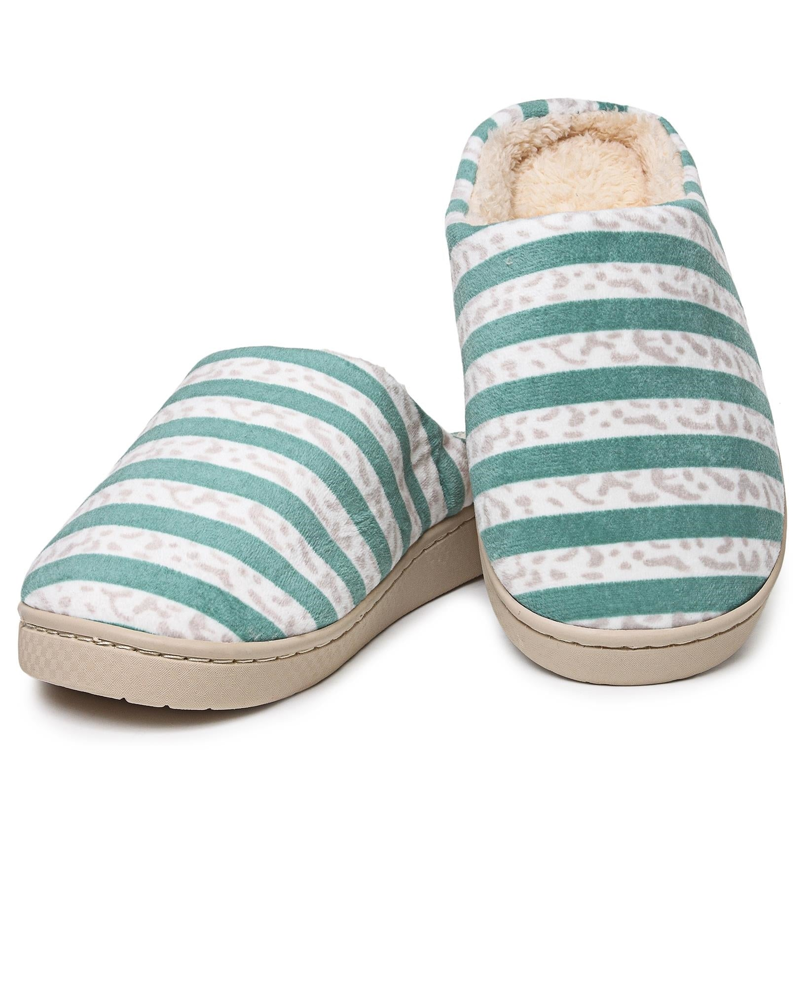 Bedroom Slippers - Green
