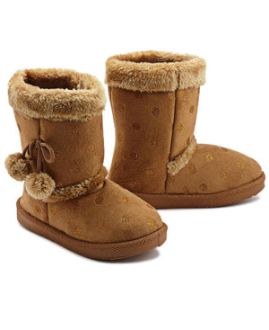 Girls Boots - Camel
