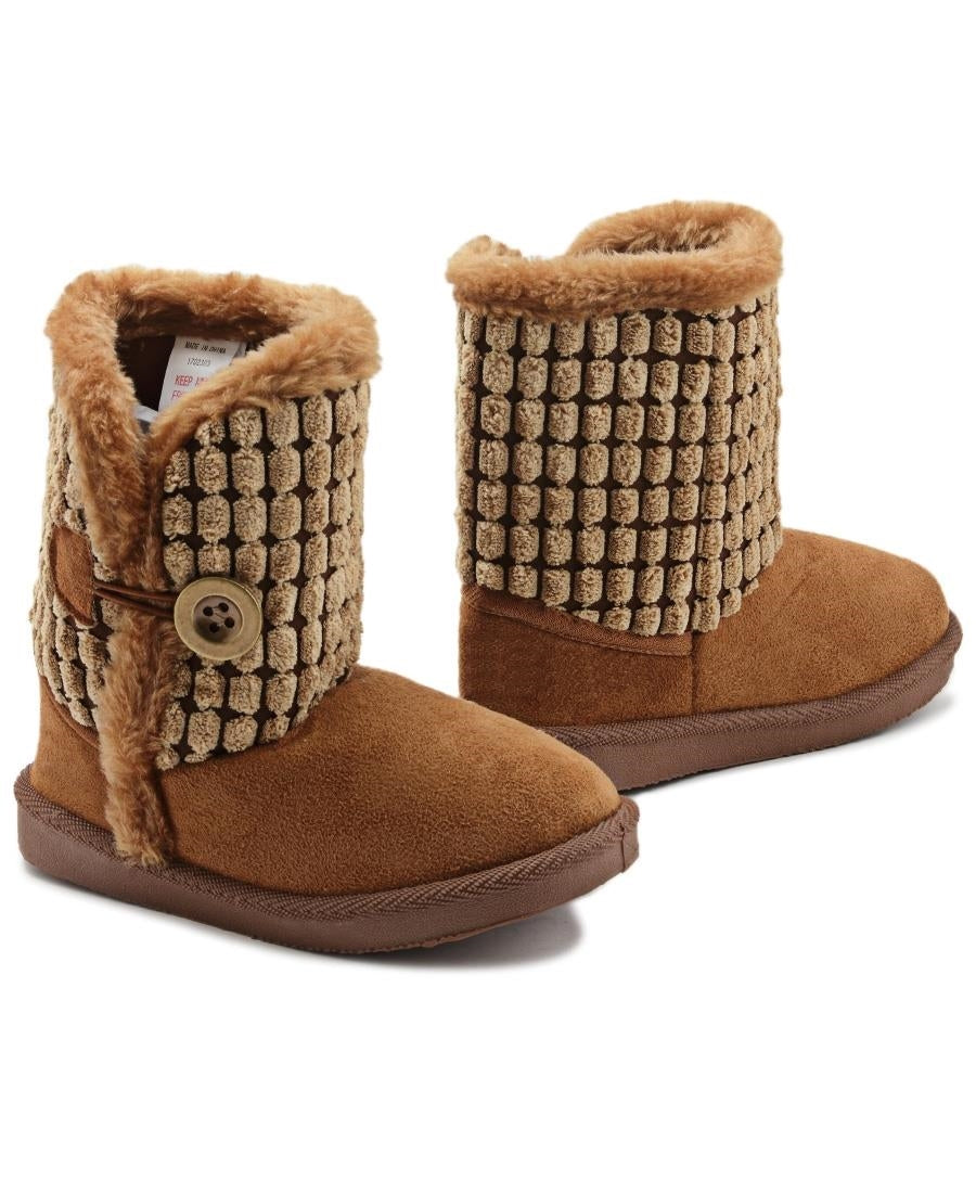 Girls Boots - Tan