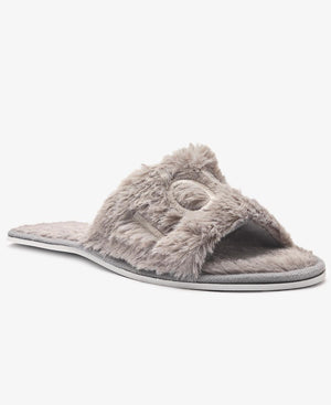 Bedroom Fluff Slippers  - Grey