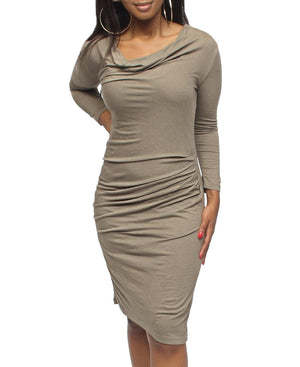 Bodycon Dress - Olive
