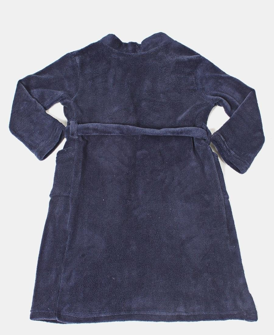 Kids Fleece Gown - Navy