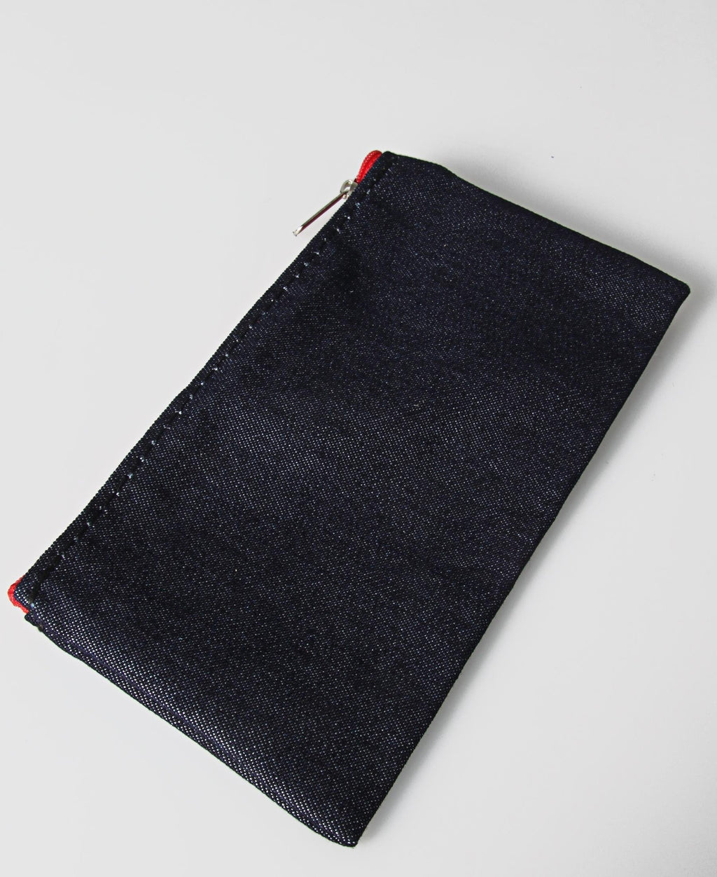 Econo 22Cm Denim Pencil Case - Navy