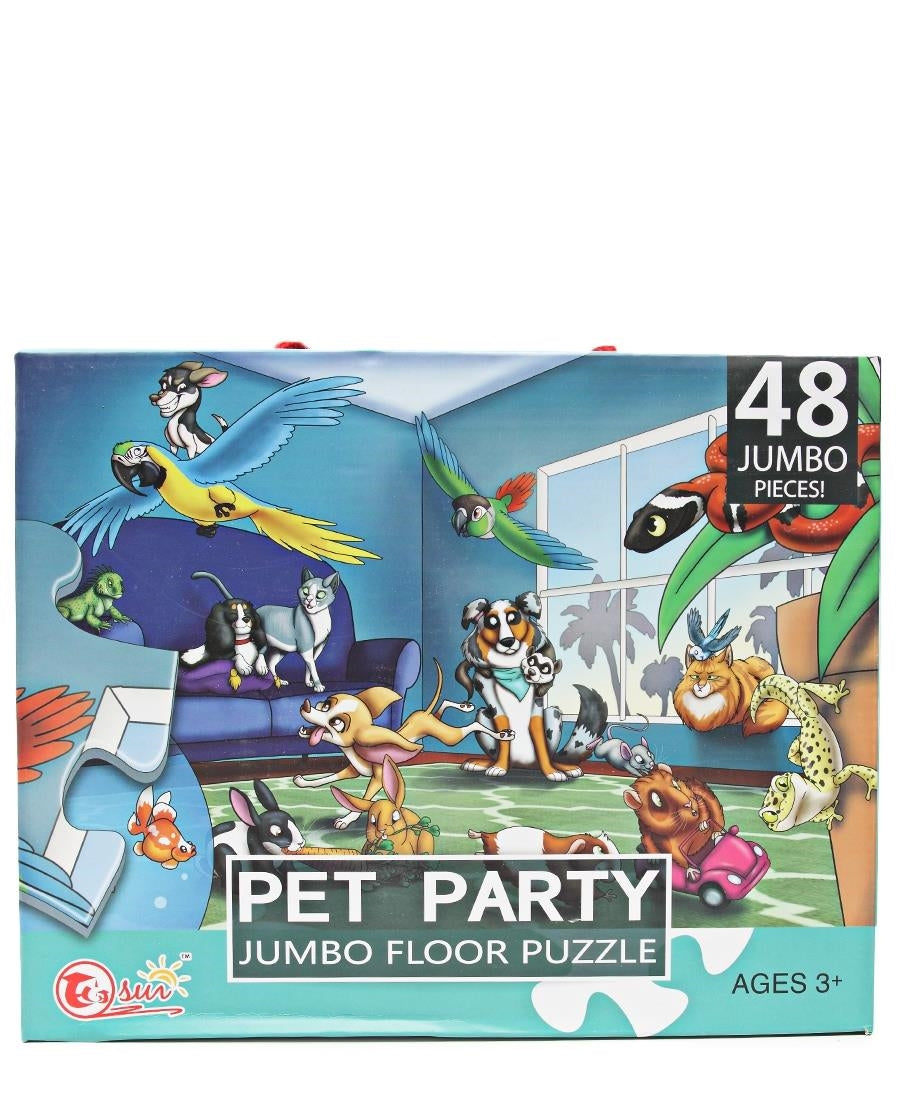 Pet Party Puzzle - Multi