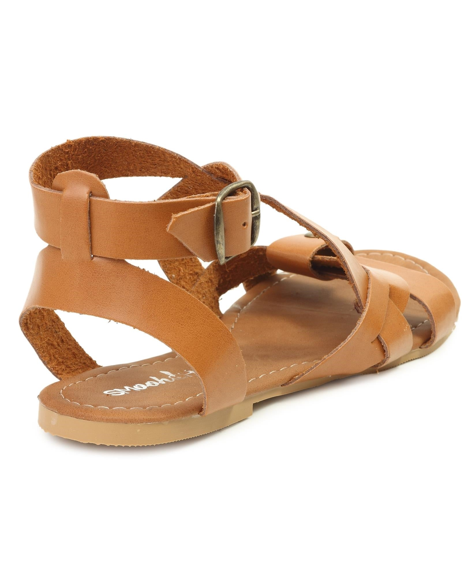 Strappy Sandals - Tan