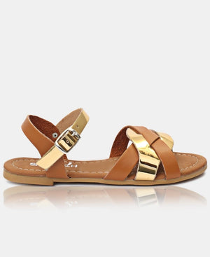 Girls Sandals - Tan