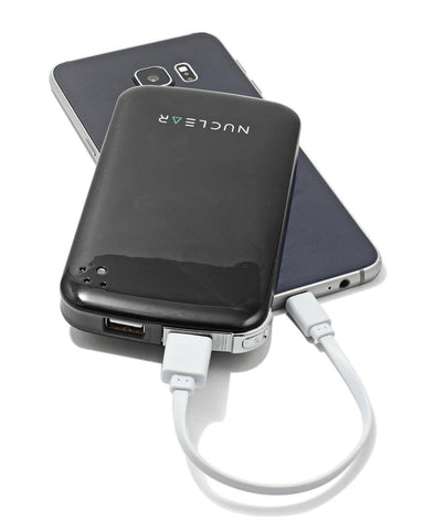 10000mAh Power Bank - Black