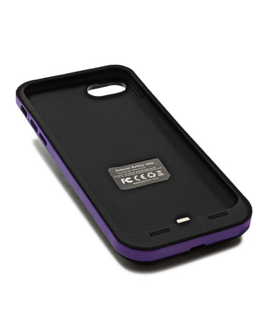3800MAH Iphone 7 Charging Cover - Purple