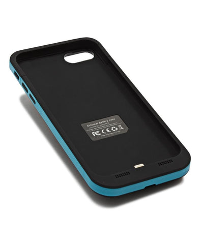 3800MAH Iphone 7 Charging Cover - Blue
