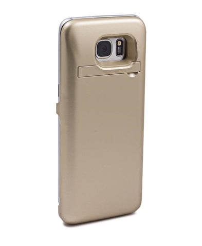 8000MAH Samsung S7 Edge Charging Cover - Gold