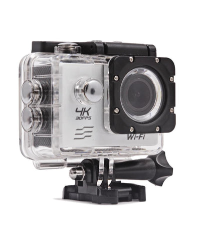 4K UHD Action Camera - White
