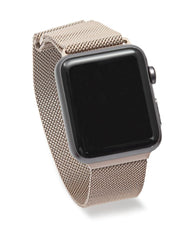 42MM Apple Watch Milanese Band - Gold