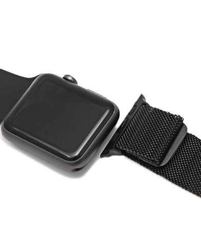 42MM Apple Watch Milanese Band - Black