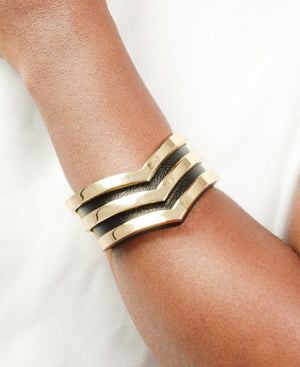 Statement Cuff - Black