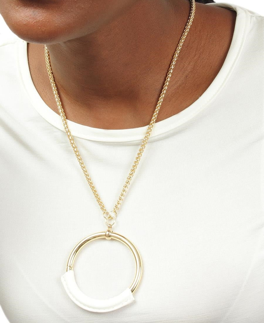 Ring Chain - White