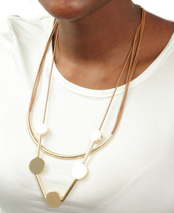 Rope Neckpiece - Gold - planet54.com