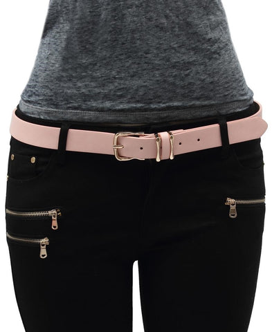 Ladies Belt  - Pink