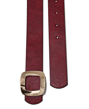 Ladies Belt  - Red