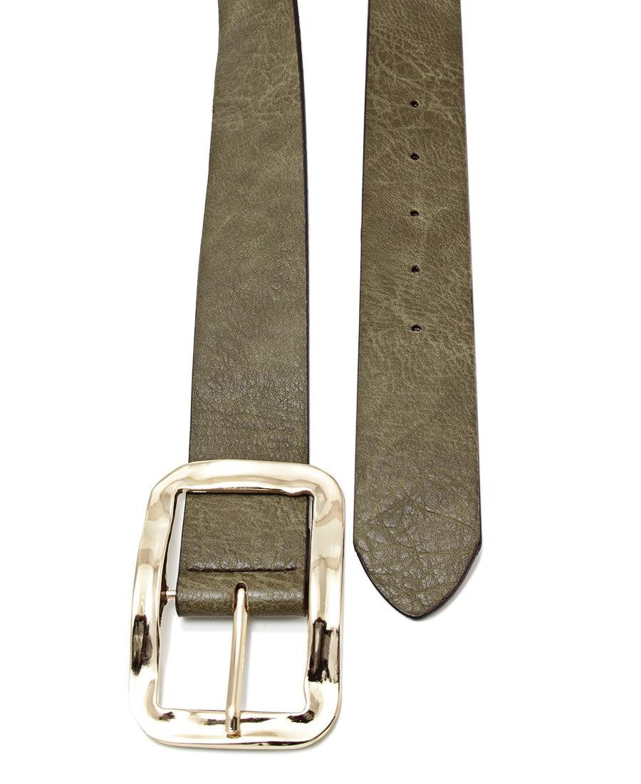 Ladies Belt  - Olive
