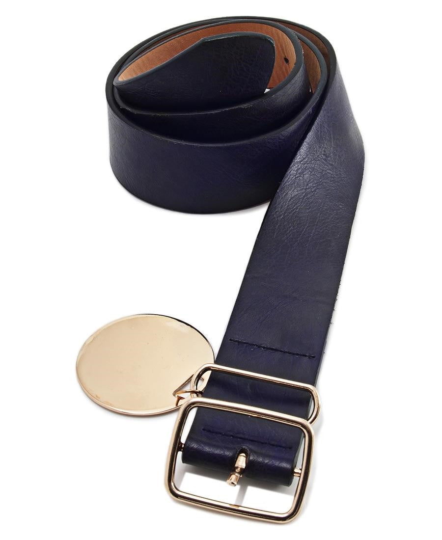 Ladies Belt  - Navy