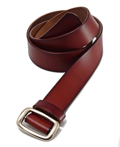 Genuine Leather Belt - Brown