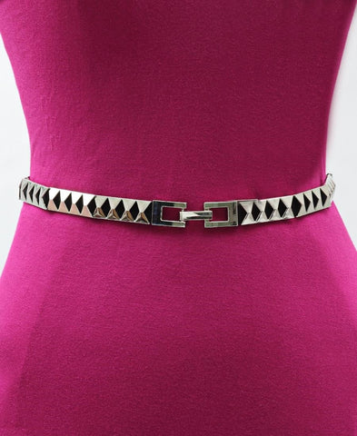 Ladies Belt - Silver