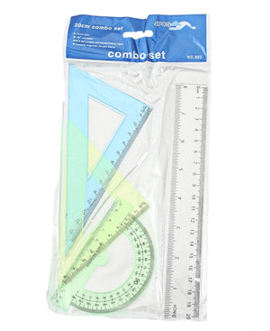 20cm Tech Drawing Set - Green
