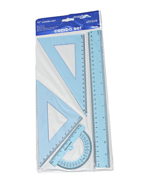 30cm Tech Drawing Set - Blue