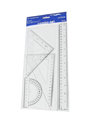 30cm Tech Drawing Set - White