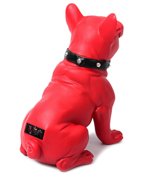 French Bulldog Bluetooth Speaker - Red