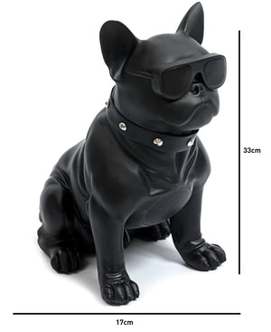 French Bulldog Bluetooth Speaker - Black