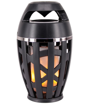 Flame Effect Bluetooth Speaker - Black