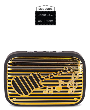 Mini Bluetooth Speaker - Gold