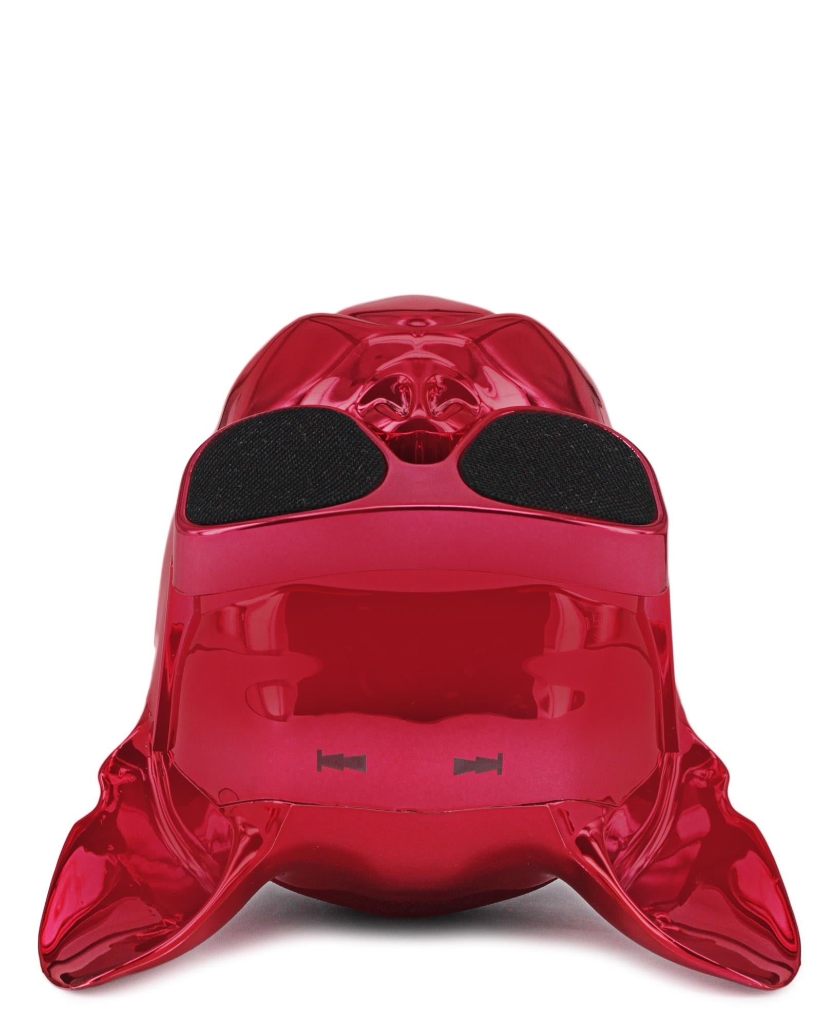 Dog Head Bluetooth Speaker - Red