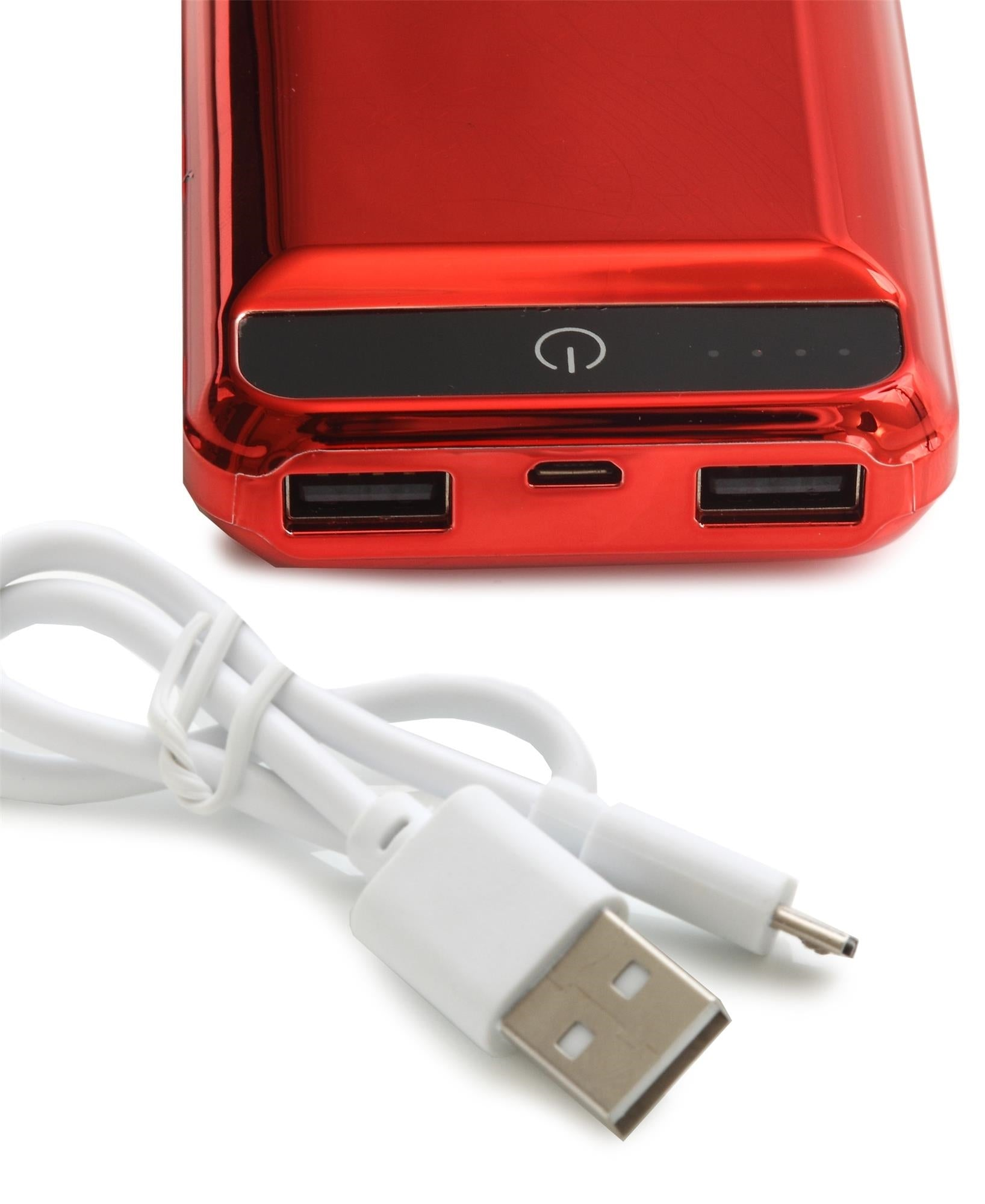 6000mAh Power Bank - Red