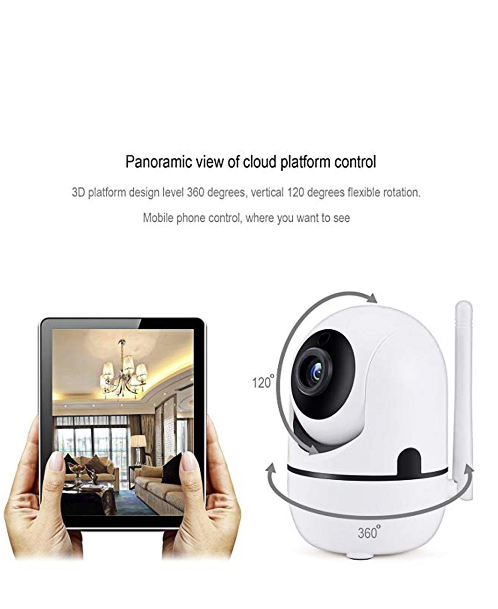 1MP Smart Wifi Camera - White