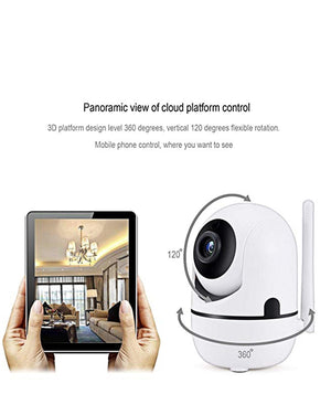 2MP Smart Wifi Camera - White
