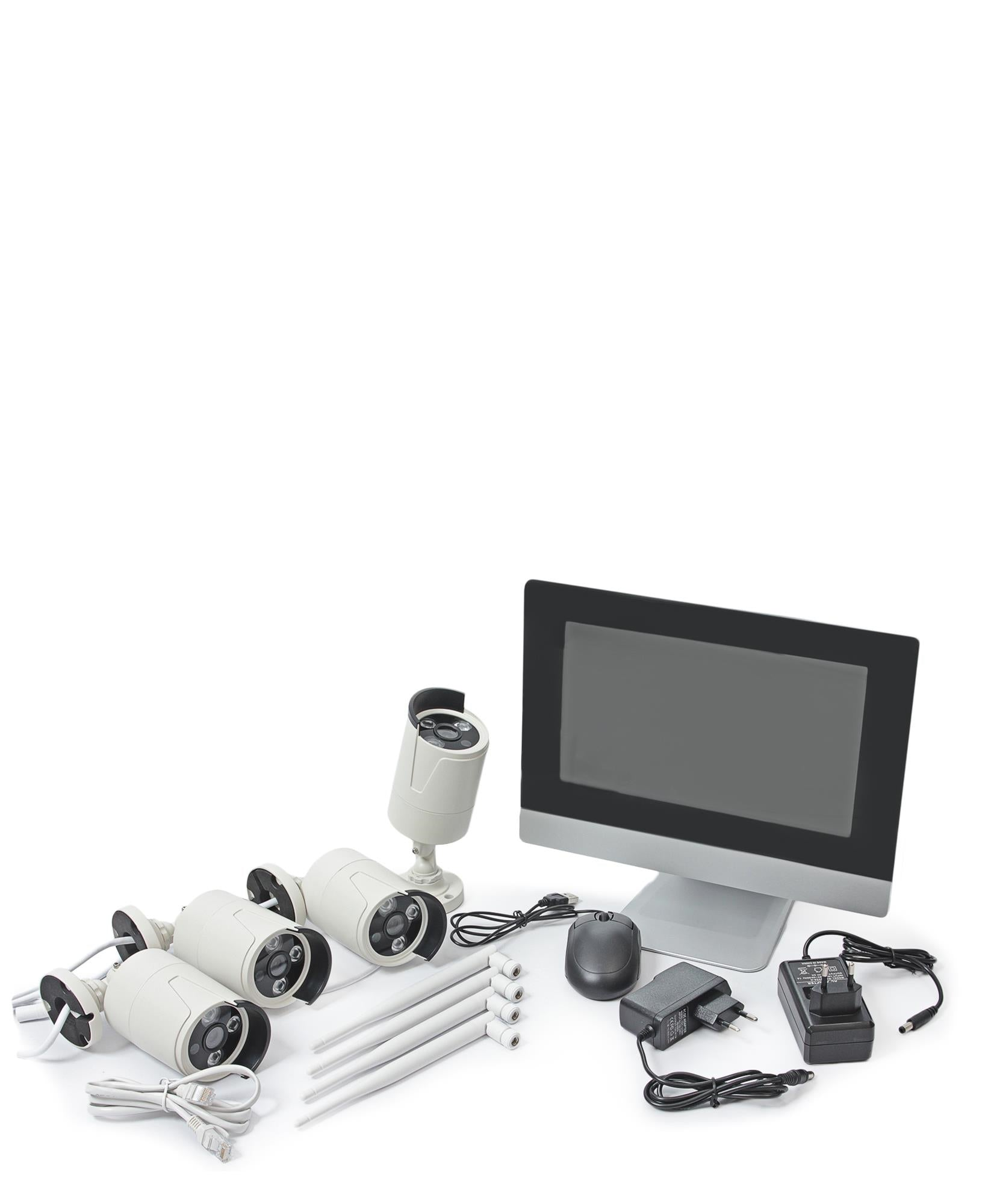 Wireless Surveilance System - White