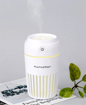 USB Light Up Humidifier - White