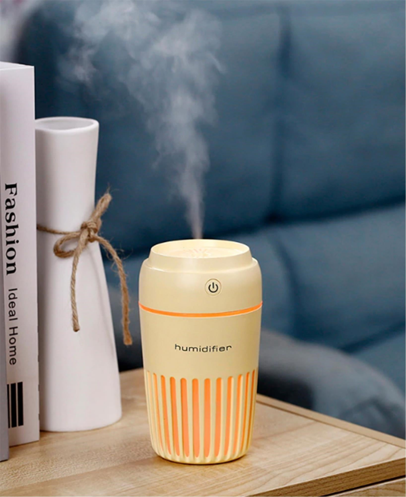 USB Light Up Humidifier - Yellow