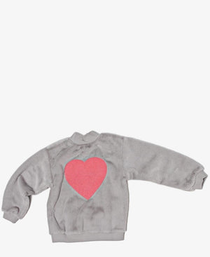 Girls Sweater - Grey