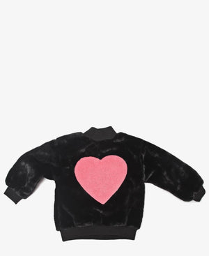 Girls Sweater - Black