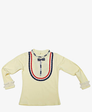 Girls Casual Top - Yellow
