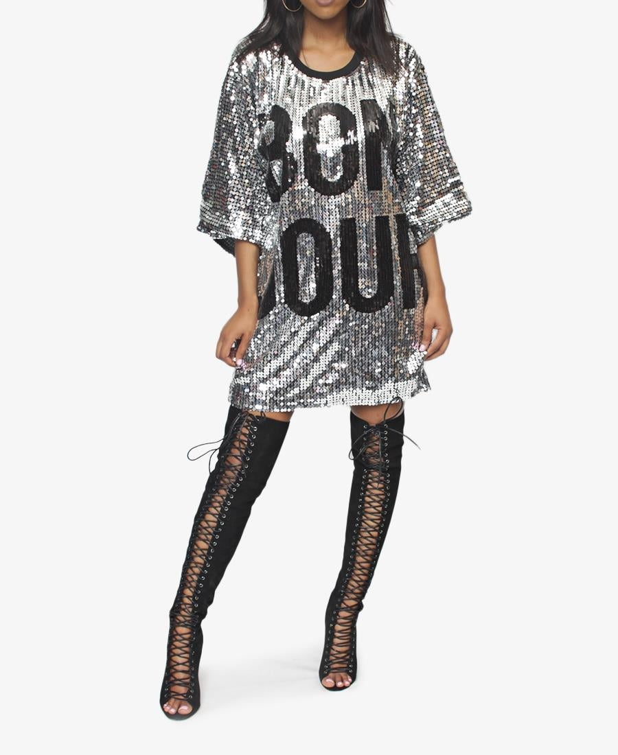 Sequins Top - Silver