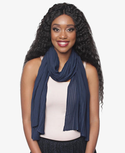 Casual Scarf - Navy