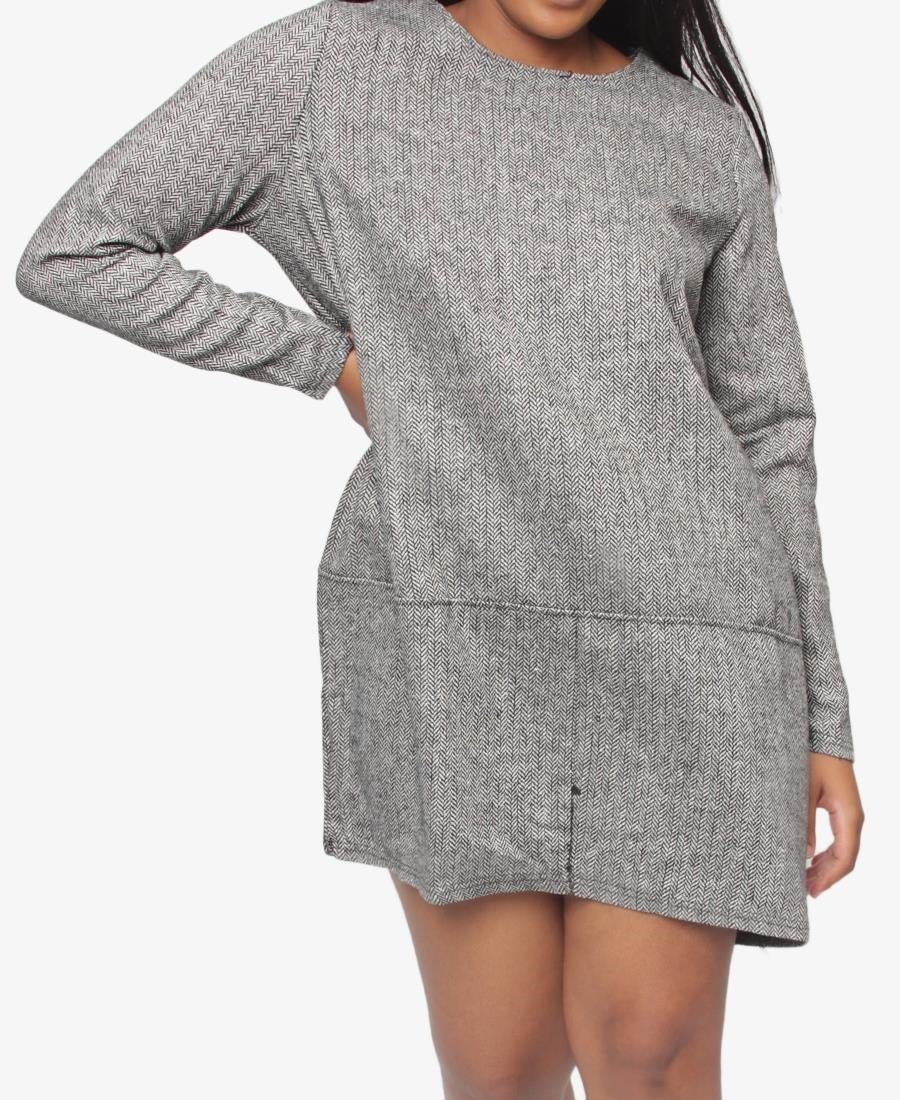 Casual Dress - Grey