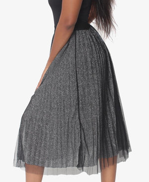 Pleated Skirt - Grey
